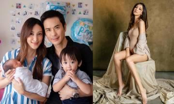 28歲陳凱琳報喜誕下細仔!一家四口幸福滿瀉