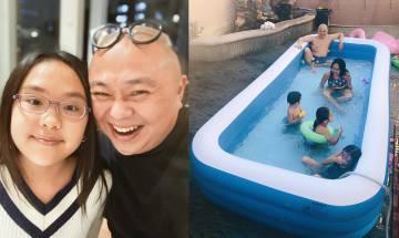 40歲林盛斌一家六口留家抗疫 九龍塘豪宅後花園放巨型游泳池