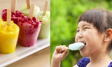 自製乳酪水果雪條食譜-在家親子DIY做法簡易!卡路里低+吸引孩子吃生果