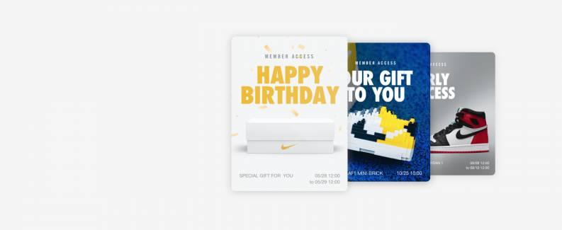 免費登記成為Nike.com.hk會員,於生日當日會獲贈0折扣優惠碼。