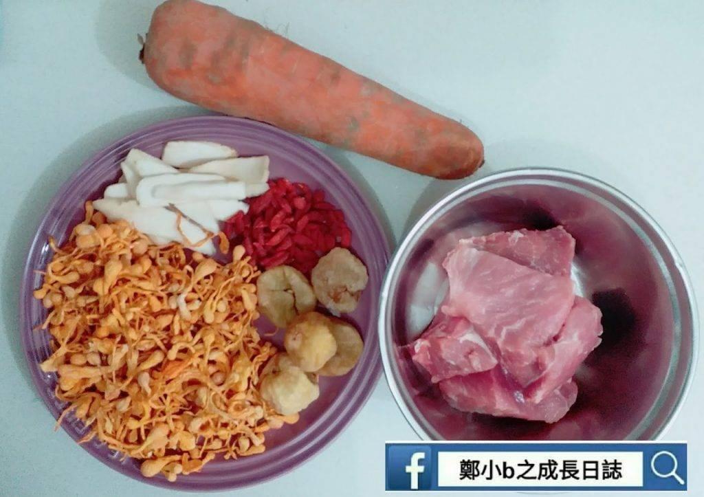 無花果湯水食譜5:蟲草花紅蘿蔔無花果湯