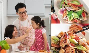 三餸一湯海鮮餐在家輕鬆完成 名廚推介絕密食譜煮出酒店水準