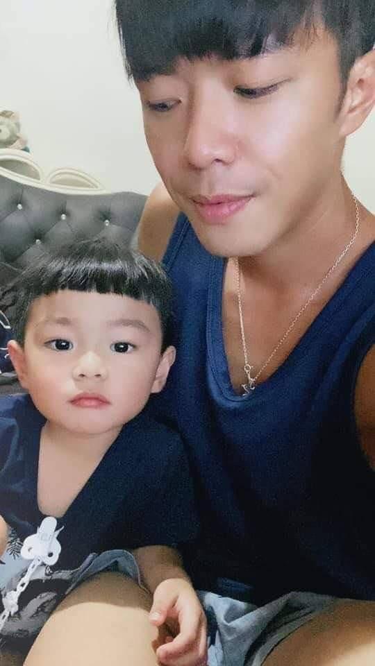 他與兒子感情很好