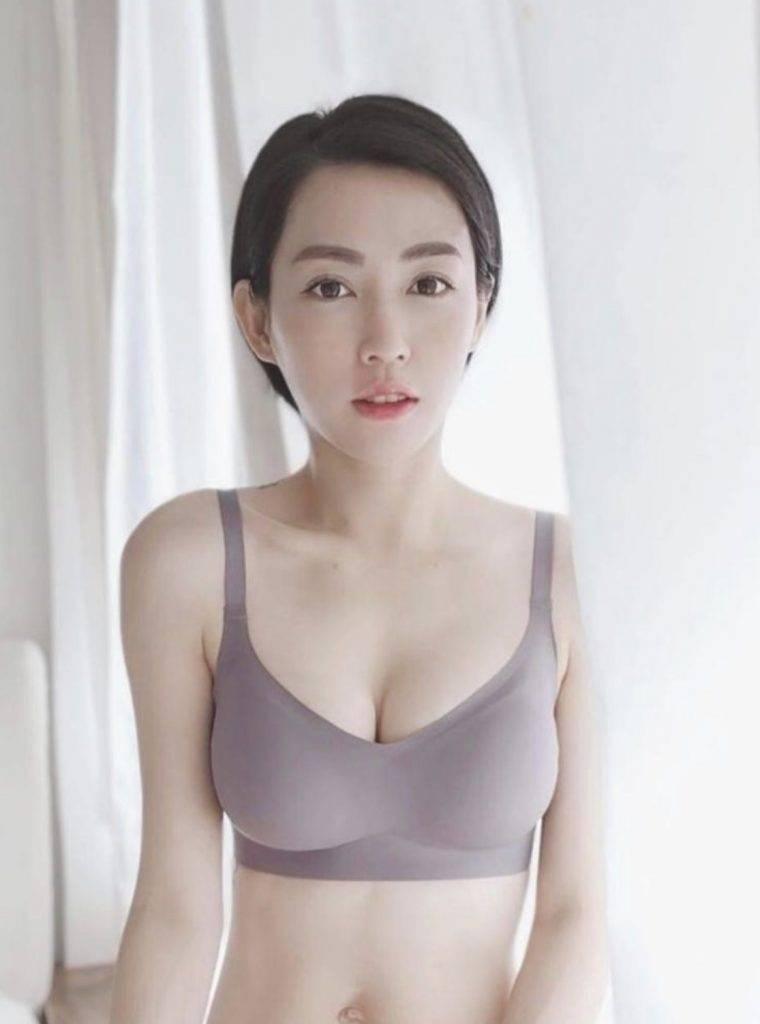 小三Macy從前曾在網店sell舒適bra,自己親身試著。