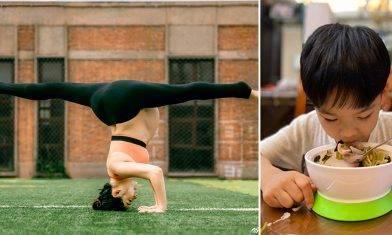 劉璇4歲仔自律飲食 主動向零食說不 從未嚐雪糕朱古力