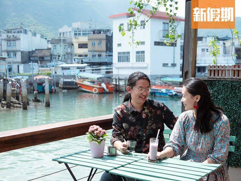 大澳榕樹頭cafe由港人情侶Cliff及Charlene所開設,開業至今已有6年。(圖片來源:新傳媒資料庫)