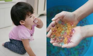 幼兒誤食水晶寶寶導致腸阻塞  腹部脹得像皮球