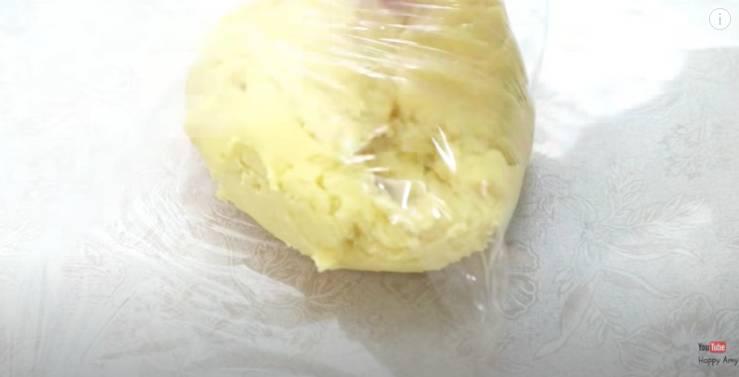 奶黃月餅食譜之酥皮做法(圖片來源:Happy Amy YouTube)