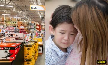 媽媽以行動示範好身教 5歲兒子特賣場弄跌產品不敢道歉