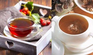 8款消滯減肥茶及湯水推介 多肉少菜 腸胃不順人士必備