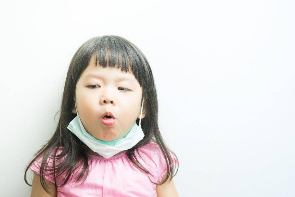 因氣管的發炎細胞增加分泌,以致痰量增多,並引起咳嗽。