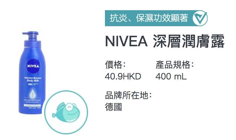 NIVEA 深層潤膚露