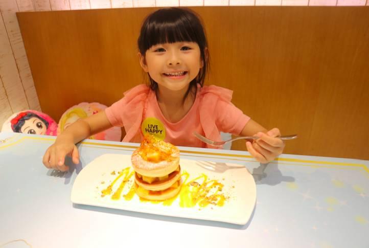 小朋友可以與公主cosbaby一同進餐