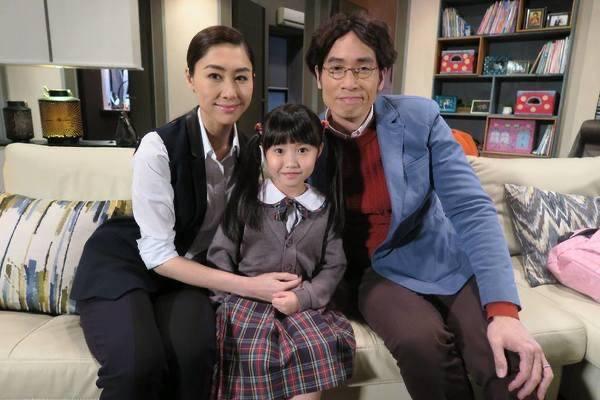 獲邀拍TVB劇集(楊鎧凝facebook圖片)