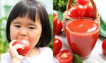 入秋食番茄生津潤燥 中醫教連續2星期飲蕃茄汁去水腫