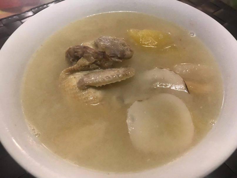 海底椰湯食譜3:蘋果雪梨海底椰鵪鶉湯