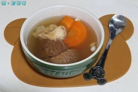 海底椰湯食譜4:猴頭菇螺頭海底椰湯