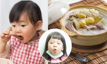 9大防咳湯水食譜-化痰潤喉養肺 紓緩氣管敏感 對抗秋冬小兒咳嗽天然妙方