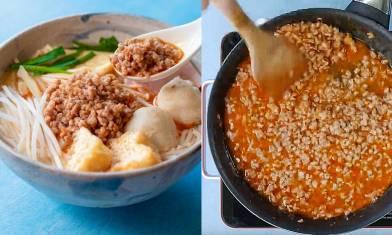 譚仔炸醬食譜5步即成-自家製完美重現香甜不膩味道 送米線一流