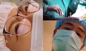 陳小春曝光應采兒產房生B過程 手術鉗染血畫面照拍 賺人仔去到盡