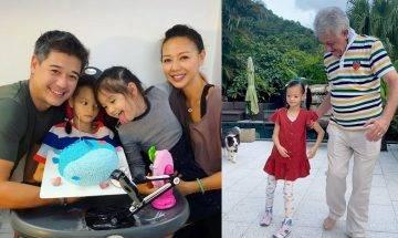 43歲鍾麗淇長女脊柱側彎被斷言不能走路 生命戰士不放棄 慢步前行