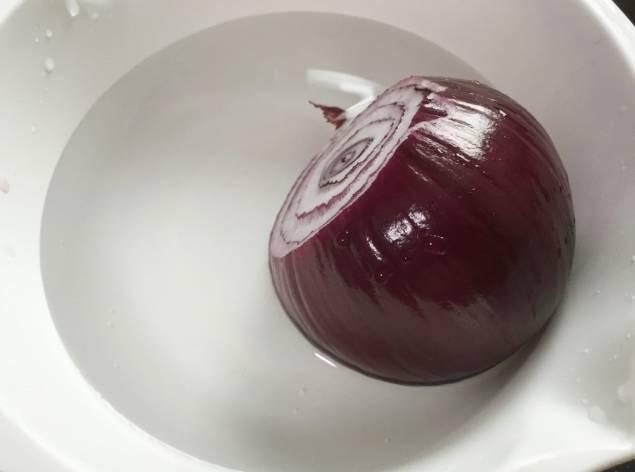 防咳湯水食譜1:洋蔥水