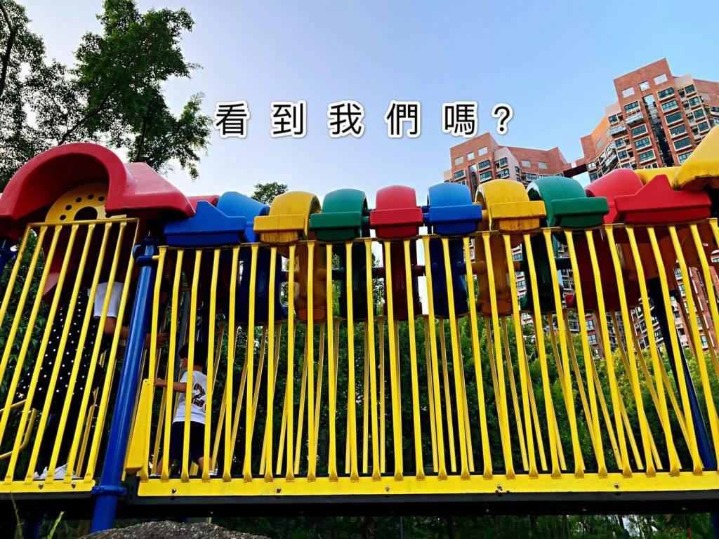 色彩繽紛的天橋