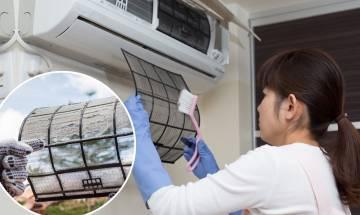 洗冷氣機一年兩次最安全 冷氣機細菌數為生肉2倍-7個在家簡易清洗步驟 慳過千元