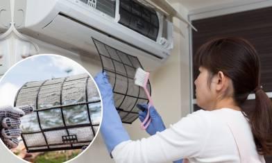 洗冷氣機一年兩次最安全 冷氣機細菌數為生肉2倍-7個在家自己洗方法+程序 慳電慳錢