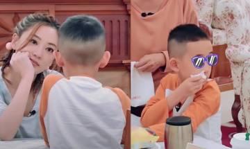 應采兒見7歲Jasper不懂簡單中文即怒斥 虎媽式教導惹網民爭議