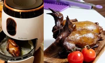 氣炸鍋食譜大公開-人妻自家製酒樓風味紅燒乳鴿 做法簡單新手零失敗