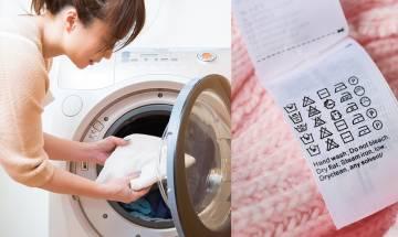18個洗衣服必學標籤+洗秋冬衣服3大竅門