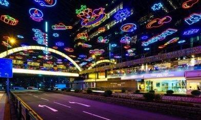 尖東燈飾2020 燈海+巨型LED燈幕牆|【聖誕親子好去處2020】