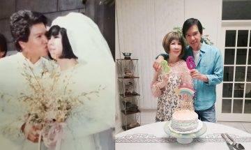 林嘉華結婚36年仍在熱戀期  視太太為女友送無盡的愛