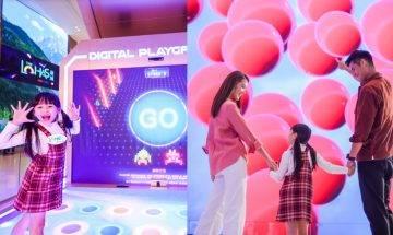 LOHAS康城將軍澳開幕-4大必玩互動數碼娛樂區|8米LED智能打卡牆