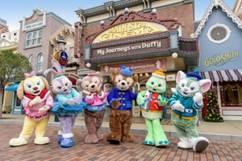 Duffy 與好友會換上全新節日服飾登場