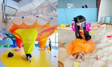 KidzTech黃埔室內遊樂場 5.6萬呎海景繩網陣+3米高滑梯+STEM遊戲|親子好去處