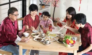 教餐桌禮儀看家教 專教教家長兩招 助孩子團年開年飯不失禮 培養具自理能力好孩子