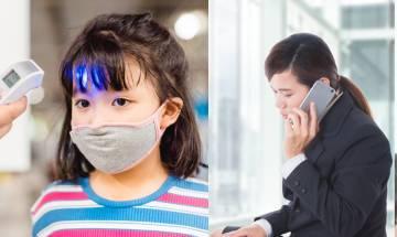 新冠肺炎疫情未止 家長強迫發燒仔女返學 拒接走求醫:畀兩粒退燒藥佢得啦