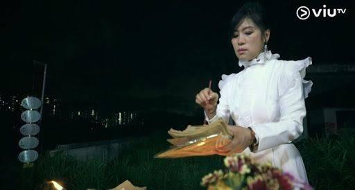 七仙羽師傅近期熱爆全城(ViuTV節目《鬼同你上位》電視截圖)