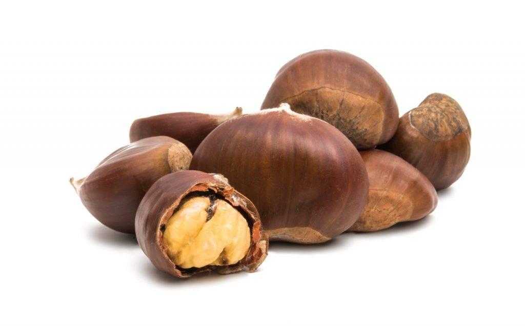 栗子是有補腎功效的食物。