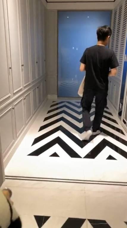 寬敞走廊(圖片來源:林志穎@IG)