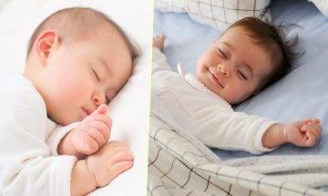 5大寶寶睡姿透露潛藏性格 反映孩子對家長的信任度