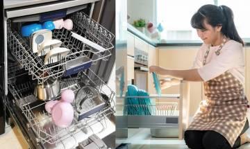 洗碗碟機有5大好處 三孩港爸為妻花8000蚊買回家:係家庭和諧機