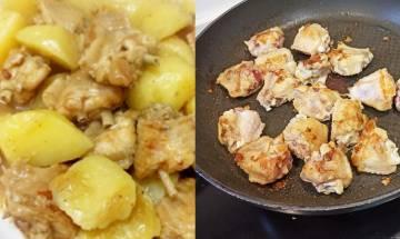 薯仔炆雞翼-重溫媽咪拿手家常菜
