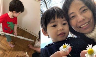 堅持留港學中文訓練兩文三語  半職童工學做家務取代家傭 【KissMom專訪】