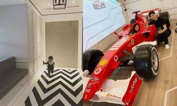 林志穎1.25億台北豪宅內部曝光    F1法拉利賽車客廳打橫放