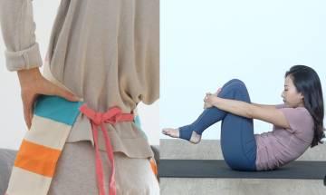 腰痠背痛長期坐到攣弓蝦米!瑜伽導師教5招簡單動作踢走腰背痛