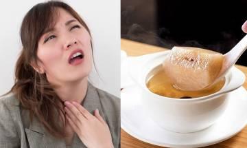 10款喉嚨痛食療+中醫拆解3大喉嚨發炎一直不好原因+迷思