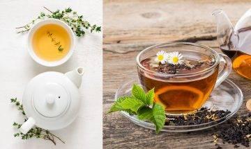 白茶黑茶冬日養生茶飲|護齒+抗氧化+修身